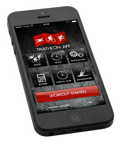 Triathlon App iPhone App
